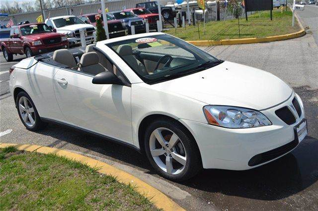 2007 PONTIAC G6 GT 2DR CONVERTIBLE ivory white premium sound package keyless start this 2007