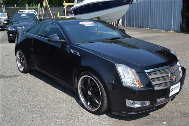 2011 CADILLAC CTS 36L PREMIUM AWD 2DR COUPE black raven carfax one owner - carfax guarantee t