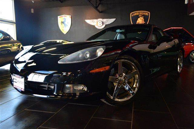 2007 CHEVROLET CORVETTE BASE 2DR COUPE black warranty a factory warranty is included with this ve