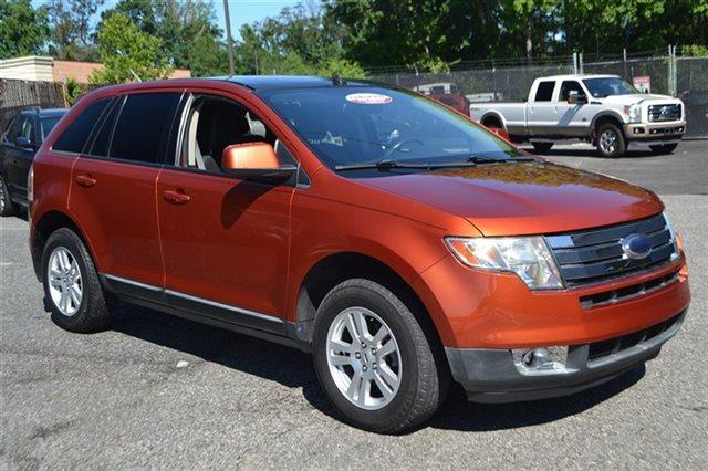 2008 FORD EDGE SEL 4DR SUV blazing copper metallic low miles this 2008 ford edge sel will sell
