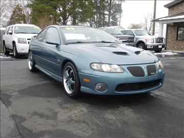 2005 Pontiac GTO for sale in Graham, NC