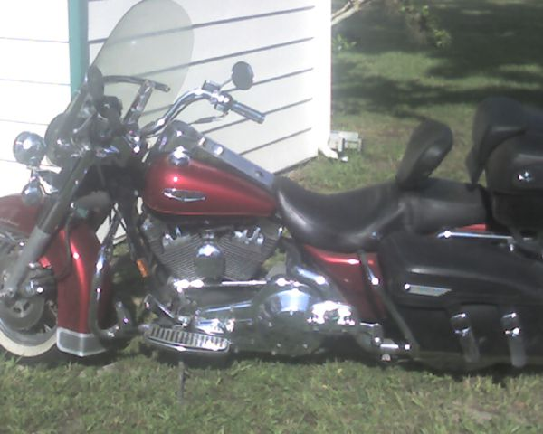 1999 HARLEY ROAD KING