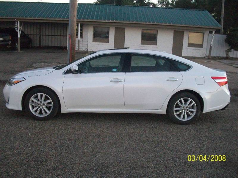 2015 toyota avalon xle premium 4dr sedan in amarillo tx. Black Bedroom Furniture Sets. Home Design Ideas
