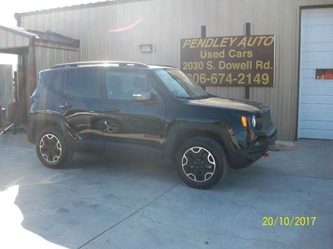 2017 Jeep Renegade for sale in Amarillo, TX