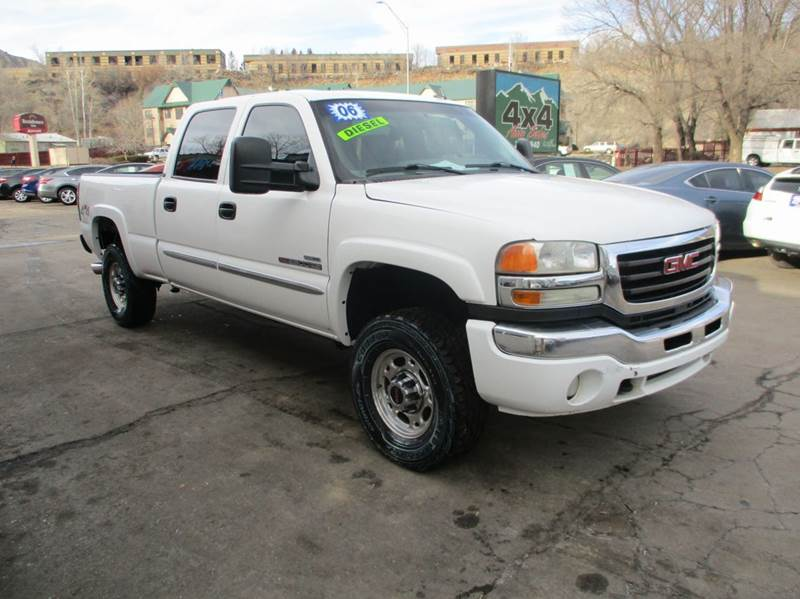 2006 gmc sierra 2500hd sle2 4dr crew cab 4wd sb in cortez. Black Bedroom Furniture Sets. Home Design Ideas