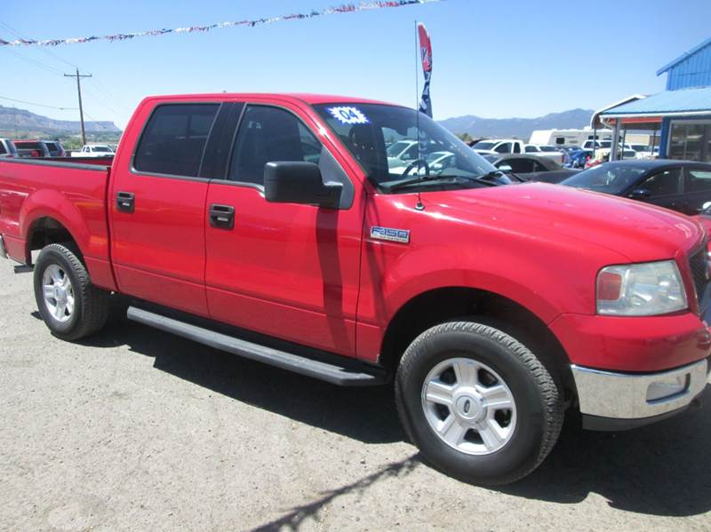 2004 ford f 150 4dr supercrew fx4 4wd styleside 5 5 ft sb in cortez co auto sales. Black Bedroom Furniture Sets. Home Design Ideas