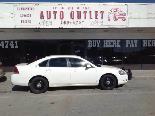 2008 chevrolet impala police 4dr sedan in des moines for Des moines motors buy here pay here