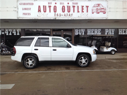 Chevrolet trailblazer for sale des moines ia for Star motors iowa city
