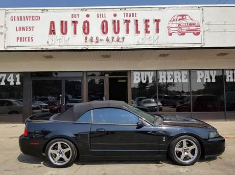 2003 Ford Mustang SVT Cobra for sale in Des Moines, IA