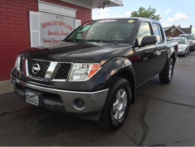2007 nissan frontier se crew cab 4wd in fairfield oh dixie imports. Black Bedroom Furniture Sets. Home Design Ideas