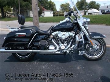 2012 Harley-Davidson Road King for sale in Joplin, MO