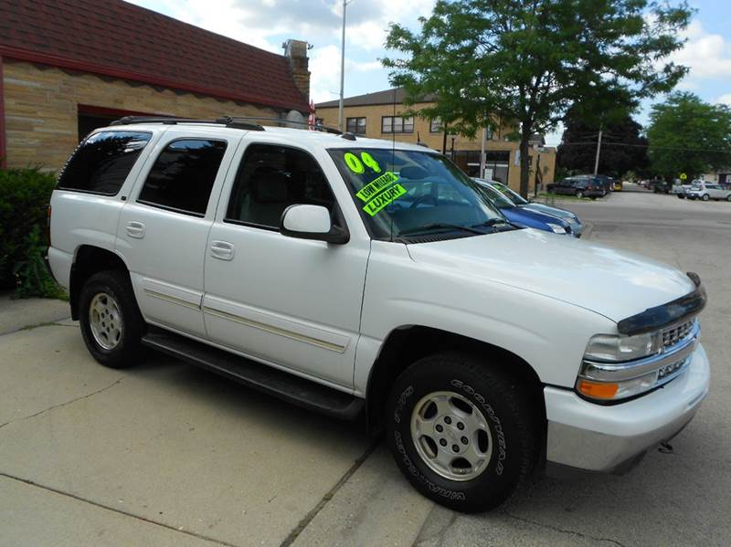 2004 chevrolet tahoe lt 4wd 4dr suv in river grove il. Black Bedroom Furniture Sets. Home Design Ideas