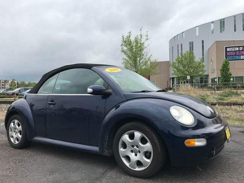 2003 Volkswagen New Beetle GLS 2dr Convertible - Fort Collins CO