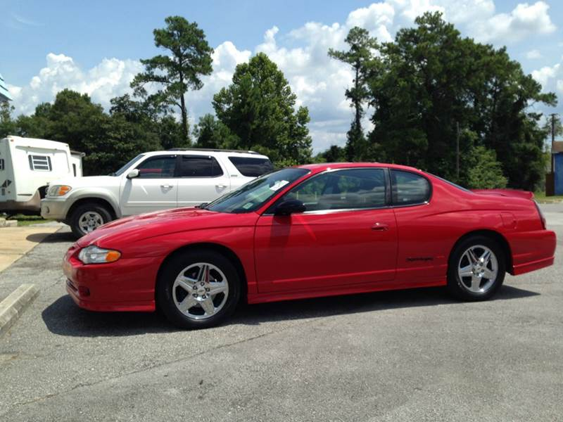 2005 chevrolet monte carlo supercharged ss 2dr coupe in jacksonville nc coastal auto sales inc. Black Bedroom Furniture Sets. Home Design Ideas