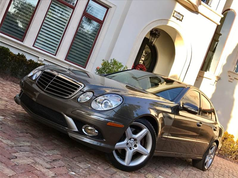 2009 Mercedes-Benz E-Class E350 4MATIC AWD 4dr Sedan - Tampa FL