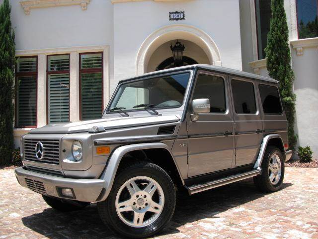 2002 mercedes benz g class g500 awd 4matic 4dr suv in for Mercedes benz dealer in tampa fl