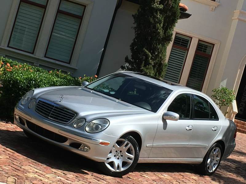 2003 mercedes benz e class e500 4dr sedan in tampa fl for Mercedes benz dealer in tampa fl
