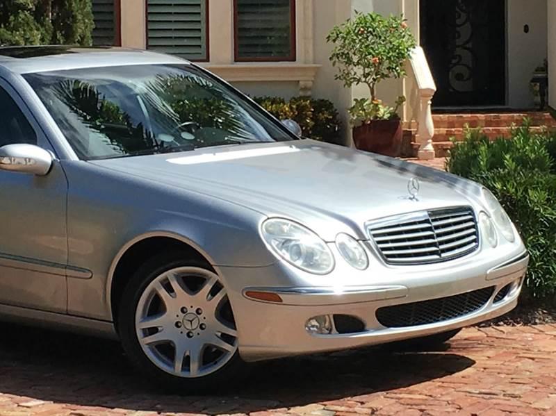 2003 mercedes benz e class e500 4dr sedan in tampa fl for 2003 mercedes benz e500