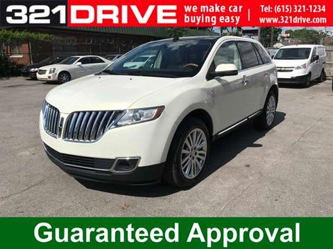 2013 Lincoln MKX for sale in Nashville, TN