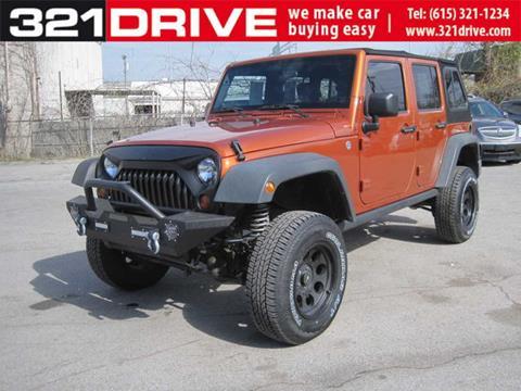 2010 Jeep Wrangler Unlimited for sale in Nashville, TN