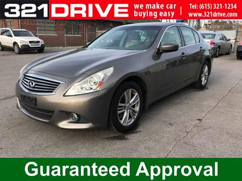 2010 Infiniti G37 Sedan for sale in Nashville, TN