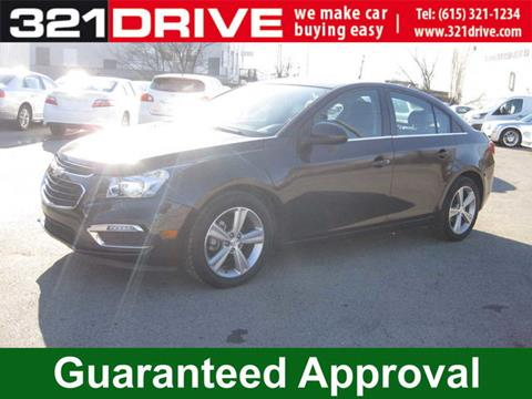 Used 2015 chevrolet cruze for sale in tennessee for Franklin motors nashville tennessee