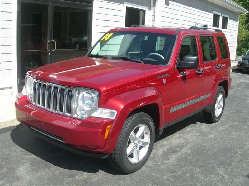 2008 Jeep Liberty 4x4 Limited 4dr SUV - North Dartmouth MA
