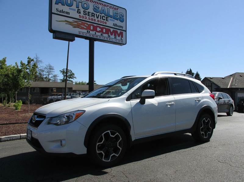 2014 subaru xv crosstrek awd premium 4dr crossover cvt in salem or south commercial auto. Black Bedroom Furniture Sets. Home Design Ideas