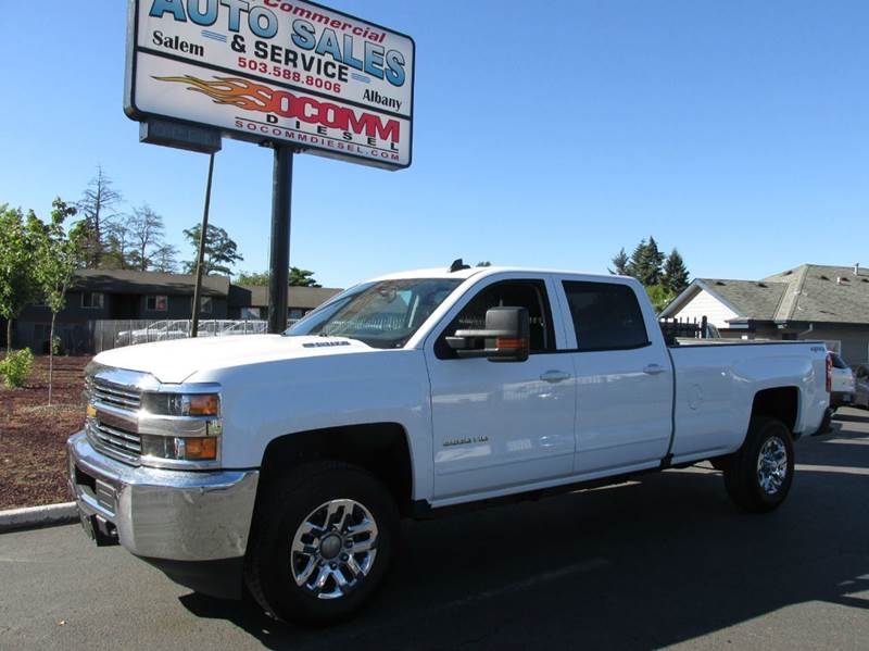 2016 chevrolet silverado 3500hd lt crew cab long bed duramax in salem or south commercial auto. Black Bedroom Furniture Sets. Home Design Ideas