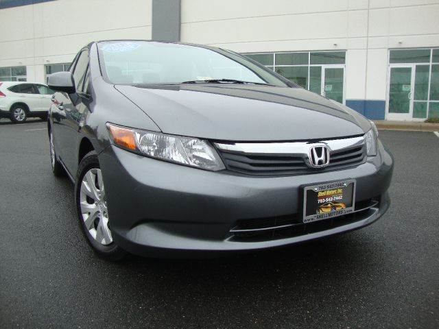 2012 Honda Civic for sale in CHANTILLY VA
