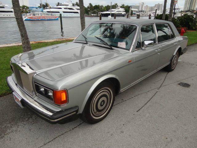 1988 Rolls Royce Silver Spur In Fort Lauderdale Fl Prestigious