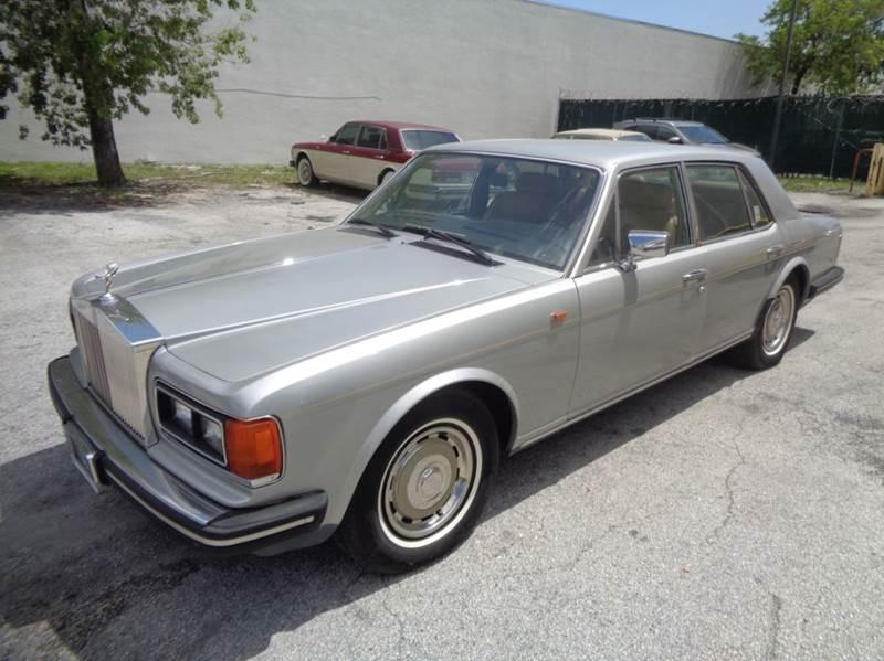 1983 Rolls Royce Silver Spirit In Fort Lauderdale Fl Prestigious