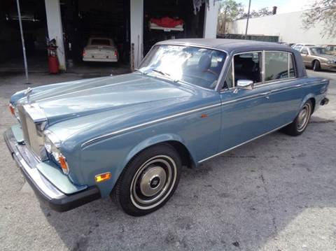 1980 Rolls-Royce Silver Shadow for sale in Fort Lauderdale, FL