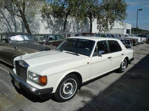 1987 Rolls-Royce Silver Spirit
