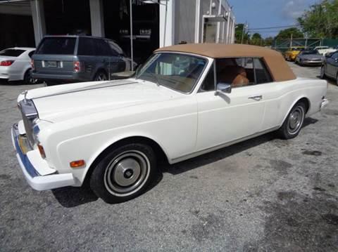 1980 Rolls-Royce Corniche for sale in Fort Lauderdale, FL