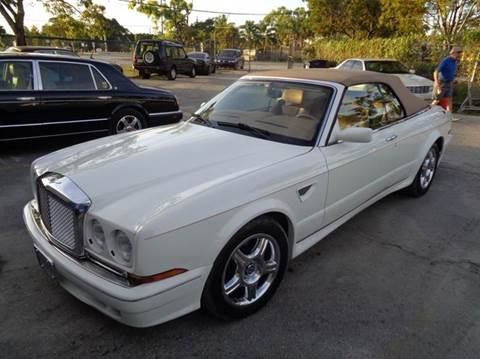for carfax photos bentley azure with follow used sale