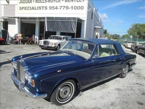 1969 Rolls-Royce Corniche for sale in Fort Lauderdale, FL