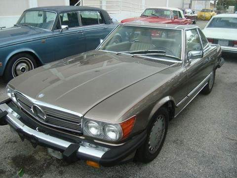 1989 Mercedes-Benz 560-Class for sale in Fort Lauderdale, FL