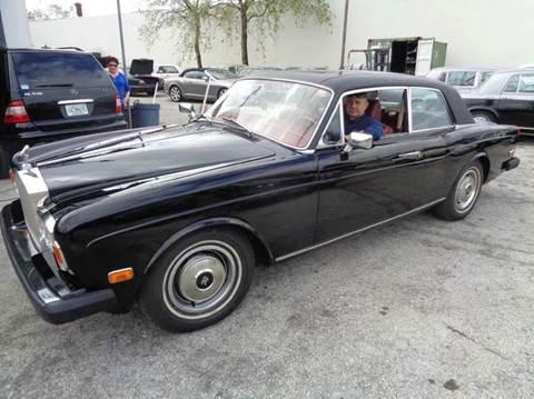 1975 Rolls-Royce Corniche for sale in Fort Lauderdale, FL