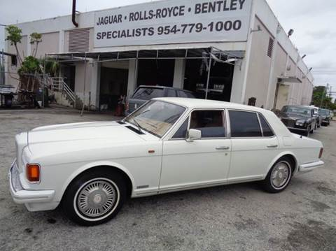 1988 Bentley Mulsanne Speed for sale in Fort Lauderdale, FL
