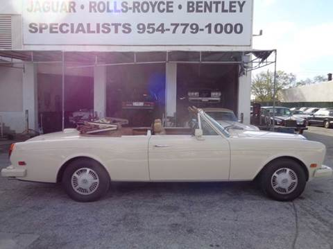 1986 Bentley Continental for sale in Fort Lauderdale, FL