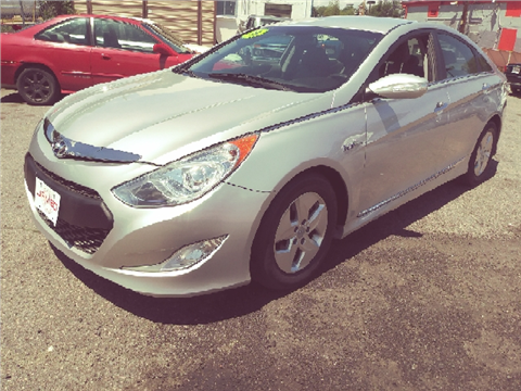 2012 Hyundai Sonata Hybrid for sale in Denver, CO