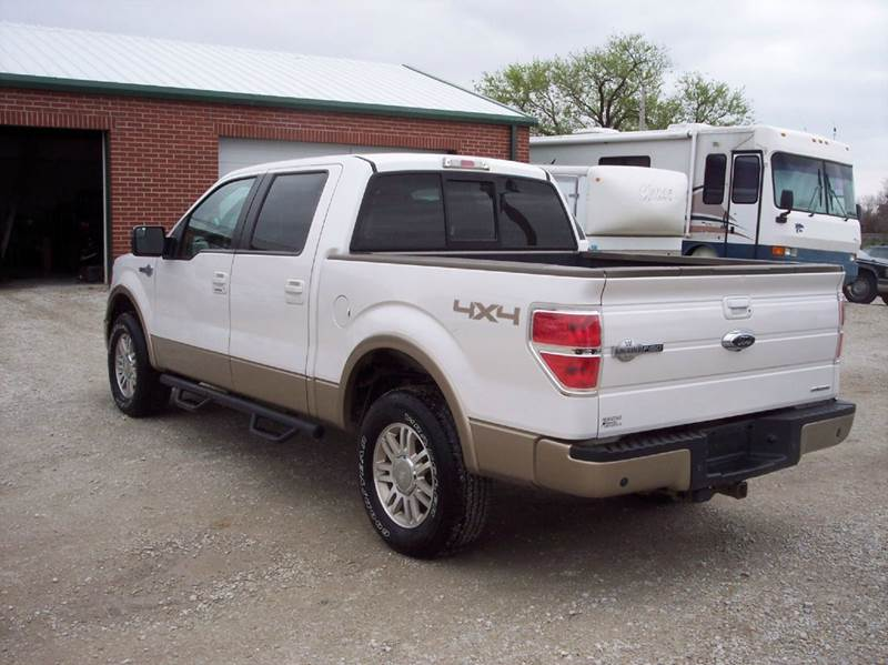 2012 Ford F-150 4x4 King Ranch 4dr SuperCrew Styleside 5.5 ft. SB - Manhattan KS