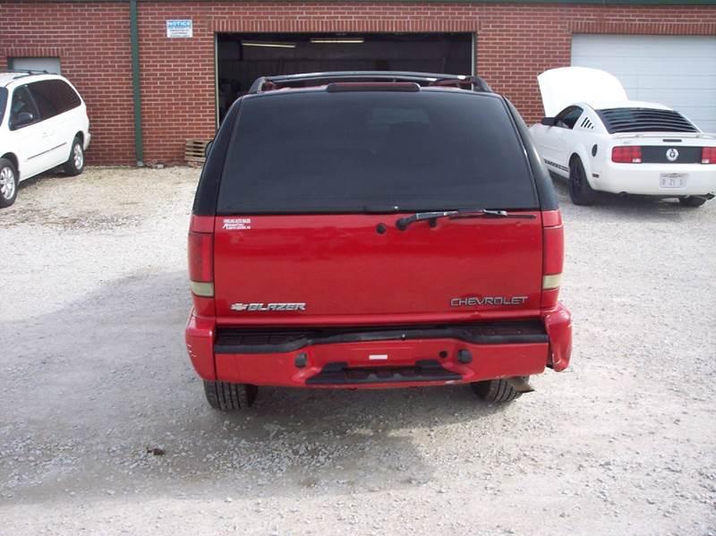 2003 Chevrolet Blazer 4x4 LS 4dr SUV - Manhattan KS