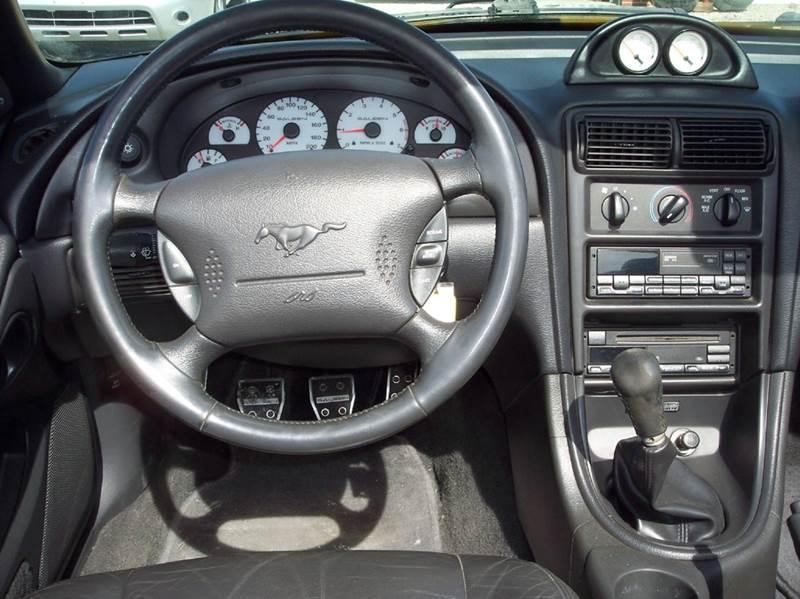 1999 Ford Mustang GT 2dr Convertible - Manhattan KS