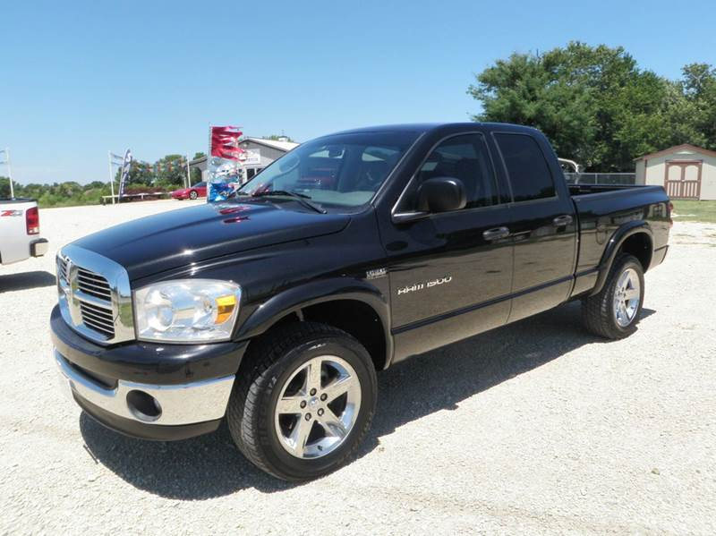 2007 dodge ram pickup 1500 slt 4dr quad cab 4wd sb in newton ks jim 39 s motors. Black Bedroom Furniture Sets. Home Design Ideas
