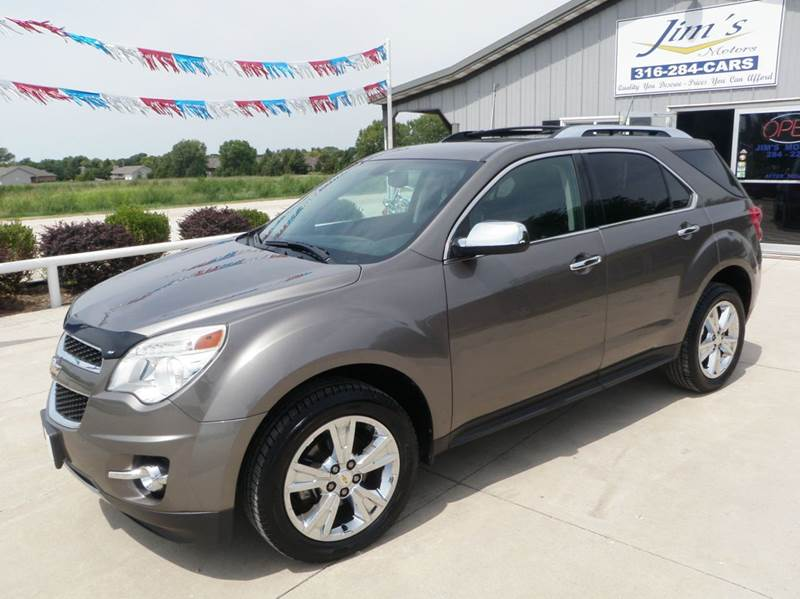 2011 chevrolet equinox ltz 4dr suv in newton ks jim 39 s motors. Black Bedroom Furniture Sets. Home Design Ideas