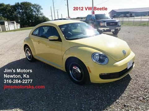 2012 Volkswagen Beetle for sale in Newton, KS