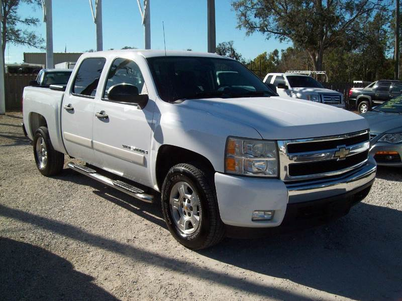 2008 chevrolet silverado 1500 2wd lt1 4dr crew cab 5 8 ft sb in st augustine fl longstreet auto. Black Bedroom Furniture Sets. Home Design Ideas
