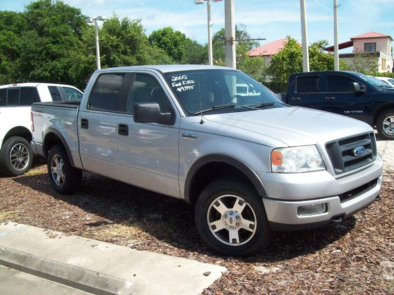 2005 ford f 150 4dr supercrew fx4 4wd styleside 5 5 ft sb in st augustine fl longstreet auto. Black Bedroom Furniture Sets. Home Design Ideas
